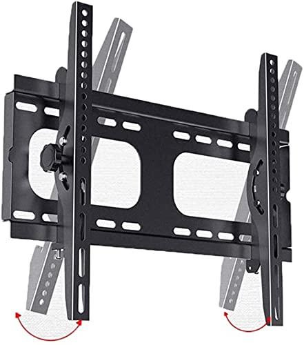 Lzpzz Soporte de pared para TV adecuado para la mayoría de 20 – 55 pulgadas LCD de inclinación plana 15 grados