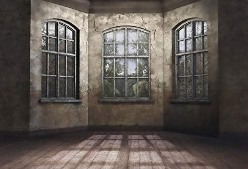 Yongfoto 2 2x1 5m Vinyl Foto Hintergrund Altes Haus Kamera
