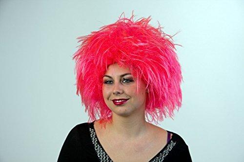 Nina perruque, rose