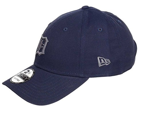 New Era Detroit Tigers 9forty Adjustable Cap League Essential Dark Navy - One-Size