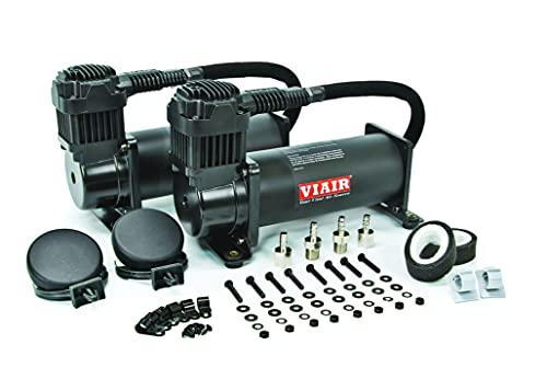 VIAIR 44442 Stealth Black Dual Value Pack (444C 200 PSI)