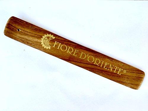 Porte encens en bois classique forme à Gondola – Fleur d'Orient