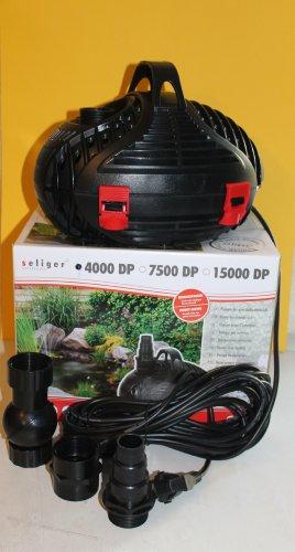 seliger extrêmement Solide 4000dp Pompe à 200cm de Hauteur 4000 l/h