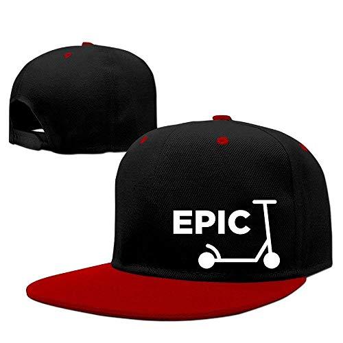Scooter Epic Hip Hop Gorras de béisbol Sombreros Planos Transpirables Lisos Snapback Royalblue Multicolor92