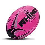 Rhino Cyclone - Palla da rugby, colore: Rosa acceso (5)
