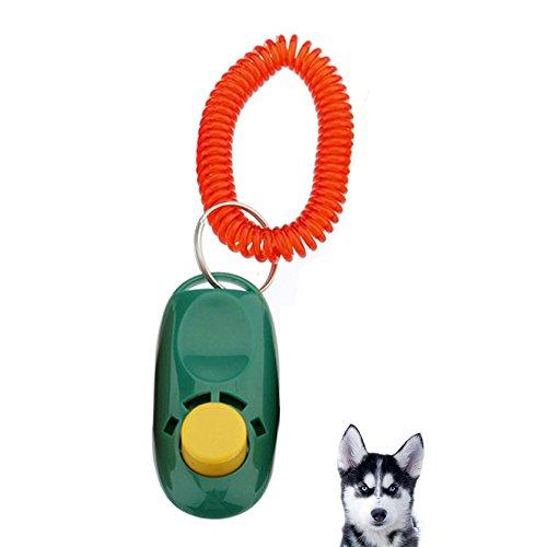 Nueva Ideas Pet klicker Clicker F Perros Entrenamiento + pulsera