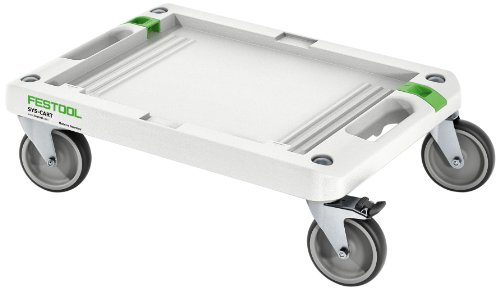 Festool Rollbrett SYS-Cart RB-SYS (Rollen-Ø 100 mm, Tragfähigkeit 100 kg, Grundfläche 360 x 520 mm), 495020