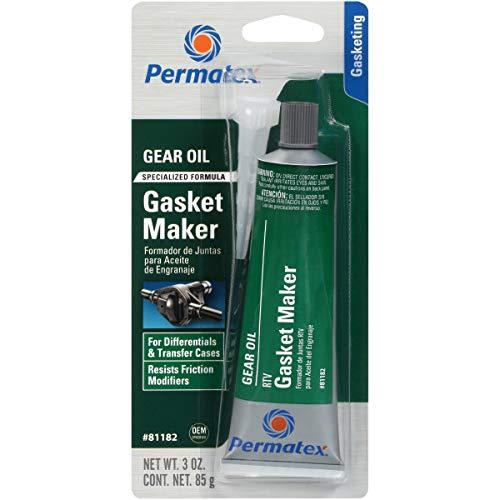 Permatex 81182 Gear Oil RTV Gasket Maker, 3 oz.