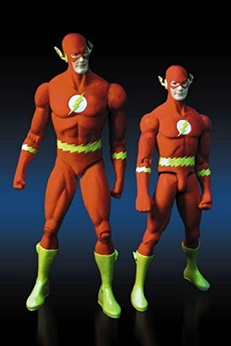 DC Direct Deluxe Action Figure Set Flash and Kid Flash by DC