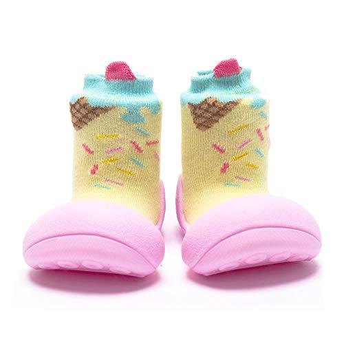 Attipas - Zapatos Ice Cream Attipas Amarillo - Rosa Talla 22,5
