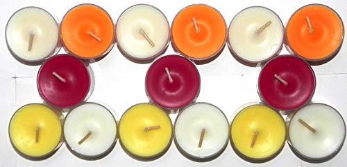 Frühlingsbox 20-21 - 15 Stck. Partylite Teelichter - Zusammenstellung der Box von TROICA - Produktbeschreibung siehe unten -