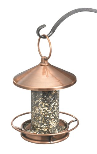 Good Directions 0112VB Classic Perch Bird Feeder Birdfeeder, Copper Finish