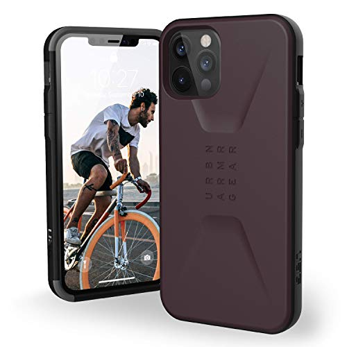 "Urban Armor Gear 11235D114949 Civilian Funda Apple iPhone 12 / iPhone 12 Pro (6,1"") Case Protectora (Compatible Carga inalámbrica, Resistente a los Golpes, Parachoques Ultra Delgado) - púrpura"