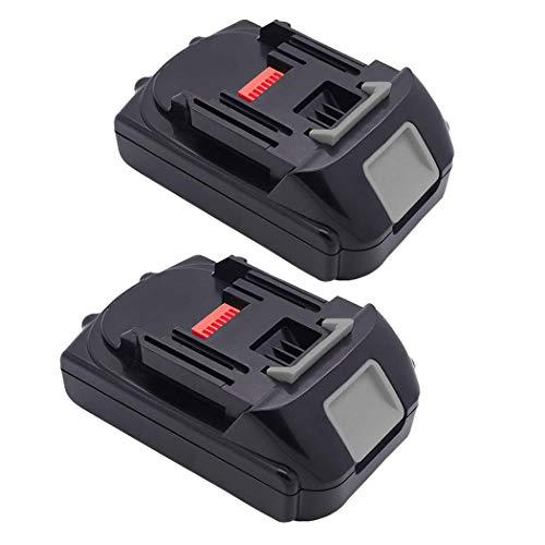 2Pack 2.5Ah 18V Lithium-Ion Replacement Battery for Makita 18Volt BL1815 BL1830 BL1815N BL1840 BL1845 BL1850 BL1850B-2 LXT-400 Batteries