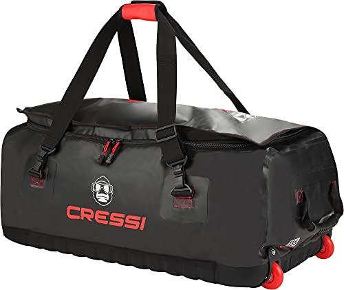 Cressi Unisex-Adult Gorilla Pro Bag Taschen Und Rucksäcke, Schwarz/Rotes Logo, One Size
