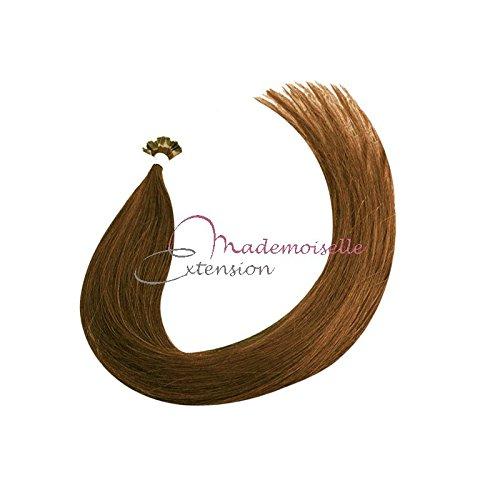 Extension Cheveux kératine - Gamme Density - Chatain clair doré - 55/60 cm
