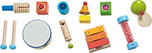 Haba 301947 - Musikmacher-Set, Instrumente für Kinder ab 2 Jahren