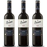 Beronia Reserva - Vino D.O.Ca. Rioja - 3 botellas de 750 ml - Total: 2250 ml