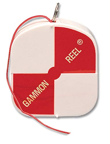 Gammon Reel 012 12-ft (3.6m) Red Cord for Construction