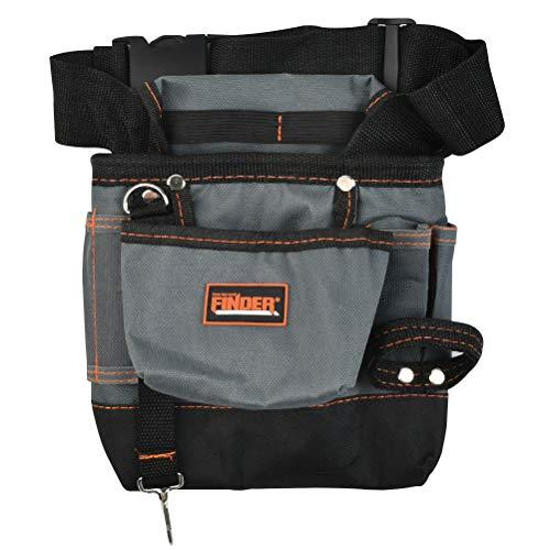 JAOMON Werkzeugtasche, Werkzeug-Gürtel, mit Tasche und verstellbarem Gürtel, Nageltasche...