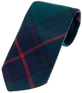Kilts Wi Hae 100% Wool Traditional Tartan Neck Tie - Shaw