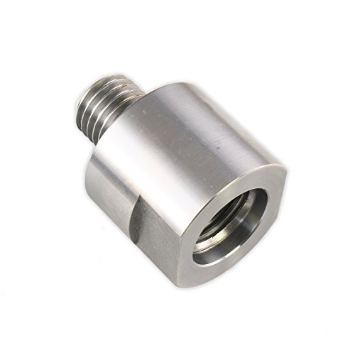 """Hurricane Turning Tools, Lathe Headstock Spindle Adapter, Converts 1-1/4"""" X 8TPI to 1"""" x 8TPI"""