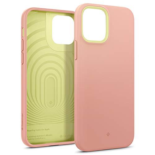 Hülleology Nano Pop Hülle Kompatibel mit iPhone 12 Pro Kompatibel mit Phone 12 - Pink