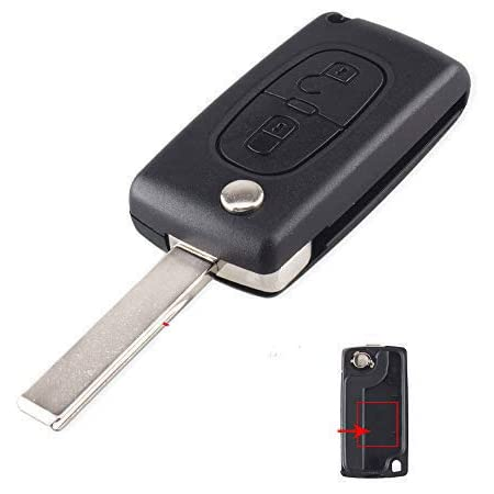 Funkschlüssel Gehäuse Für Peugeot 207 307 308 407 607 Elektronik