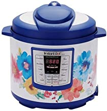Instant Pot Pioneer Woman LUX60 Vintage Floral 6 Qt 6-in-1 Multi-Use Programmable Pressure Cooker, Slow Cooker, Rice Cooke...
