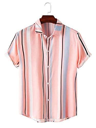 Brand Chief Men's Cotton Digital Printed Half Sleeve Shirt