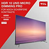TCL 50EP660 Fernseher 126 cm (50 Zoll) Smart TV (4K UHD, HDR10, Micro Dimming Pro, Android TV, Prime Video, Alexa kompatibel, Google Assistant) Brushed Titanium - 2