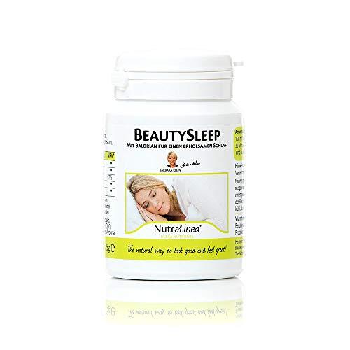 BeautySleep mit BerryShield Sauerkirsch Extract,Baldrian, Magnesium, Silizium und Q10 Heißgetränk mit Kirschgeschmack 75g