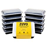[20 Pack] 1 Compartment Disposable Reusable Lunch Box, Meal Prep Food Container,