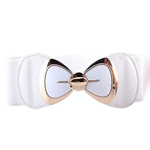 Vrouwen riem Mode strik Gesp tailleband Vintage brede taille riemen voor vrouwen elastische stretch taille riem