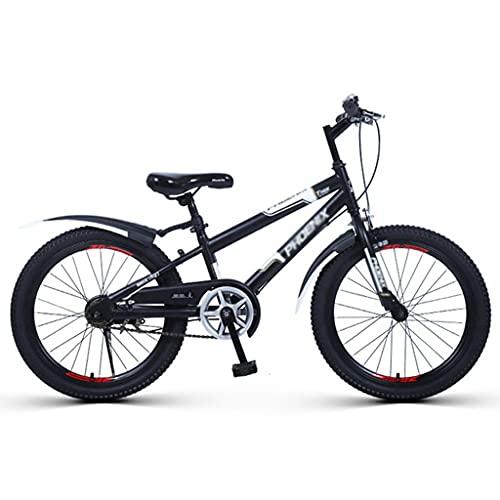 LiRuiPengBJ Bicicleta para niños Bicicletas de Montaña de 20 Pulgadas Estructura de Acero Al Carbono de Alta Resistencia Bicicleta Frenos de Disco MTB para Hombre y Mujer (Color : Style1)