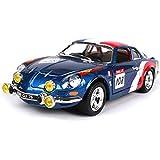 JUNWEN LJW -Toy Renault A110 1600S Racing Retro Classic Coche 1:24 Modelo de Auto de aleación (Color: Azul, Tamaño: 18 cm * 7.2cm * 5.3cm) | Código de Productos básicos: LJW-662