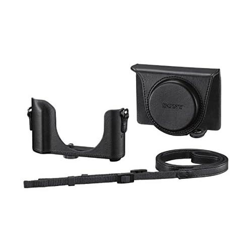 Sony LCJ-HWA - Kit con Astuccio Compatibile con HV90 o WX500, Nero/Antracite