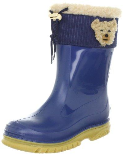 Romika Unisex-Kinder Teddy Gummistiefel, Blau (blau-Honig 573), 22