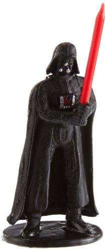 Dekoback - Vela para tartas, diseño de Darth Vader