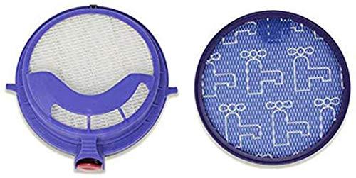 YAJIWU Piezas de repuesto de filtro lateral principal para ILIFE V7 V7S V7s Pro Robot limpiador de piso accesorios de limpieza (color: filtro DC25)