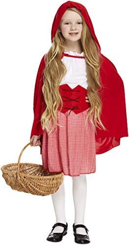 Children - Disfraz de Caperucita Roja infantil, talla S (U37 771)