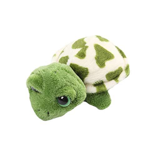 Niumanery Adult Kids Cartoon Plush Tortoise Turtles Headband Hair Tie Brooch Clip Keychain 2#