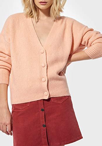KAPORAL - Chaleco para mujer, modelo PARID-color Lavende-Cintura LOUKOU XS