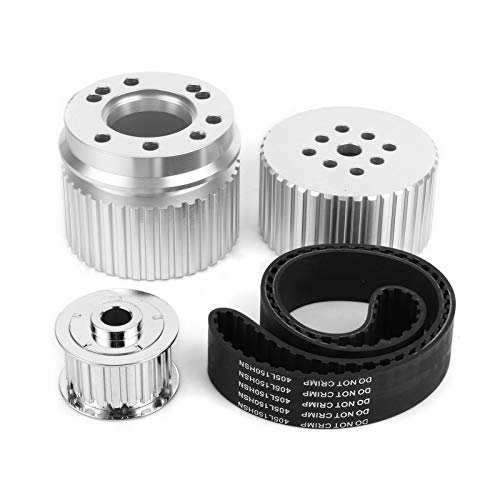 Auto-Riemenscheiben-Kit, Wasserpumpen- / Kurbel- / Lichtmaschinen-Riemenscheiben-Set SRN2252 Fahrzeugzubehör Passend für 283 305 327 350 400