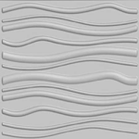 x 24.6 in Off-White Plant Fiber Glue-On Wainscot 3D Wall Panels 32 Sq Ft. x 1 in 6-Pack 31.4 in Berlin
