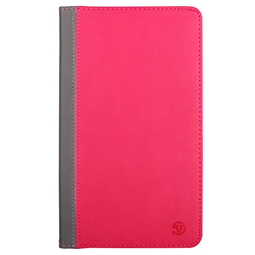 Leather Case for Samsung Galaxy Tab 4 8.0 Protective Stand Cover with Hand Strap
