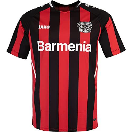 JAKO Bayer 04 Leverkusen Home Trikot (L, schwarz/rot)