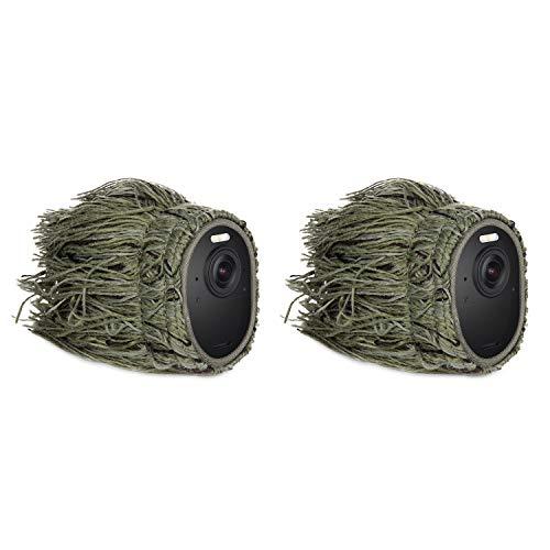 Funda de Camuflaje Compatible con cámara de Seguridad Arlo Ultra y Arlo Pro 3 – Esconde y Protege tu cámara Arlo (Pack de 2)