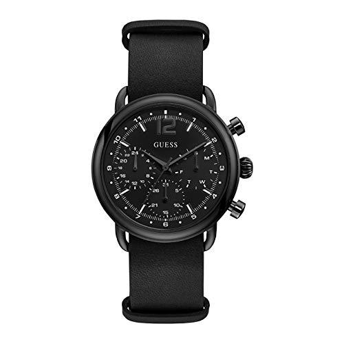 Guess Herren Multi Dial Uhr Outback mit Leder Armband