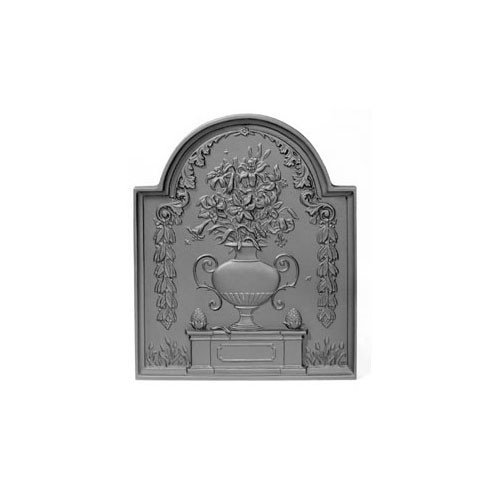 Affordable 17.625 x 21.25 Urn of Lilies Fireback